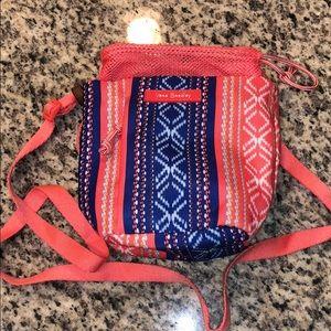 Vera Bradley small beach crossbody bag